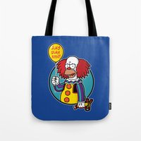 Krustywise the Clown Tote Bag