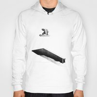 snowboard Hoodies featuring A-Frame | Snowboard by Marco Jørger