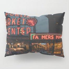 Seattle Public Market Pillow Sham