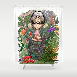 Hedge Witch Shower Curtain