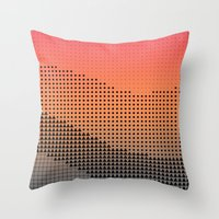 Throw Pillows featuring synegryde by Spires
