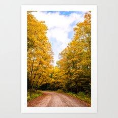 Follow the Colors of Fall Art Print
