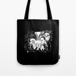 Poe vs. Lovecraft Tote Bag
