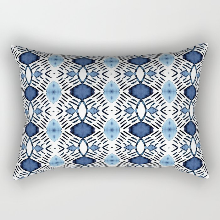 Blue Tundra Rectangular Pillow