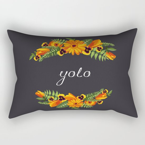 Yolo Rectangular Pillow