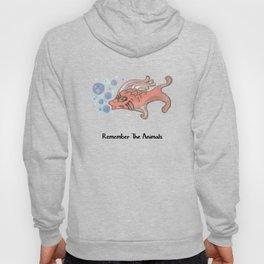 Remember The Animals Fish T-Shirt Hoody