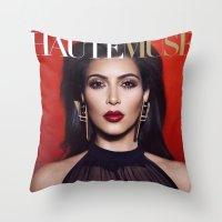 kardashian Throw Pillows featuring Kim Kardashian West by I Love Decor