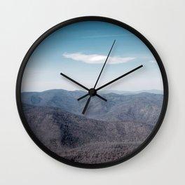 Old Rag Mountain in Shenandoah Virginia Wall Clock