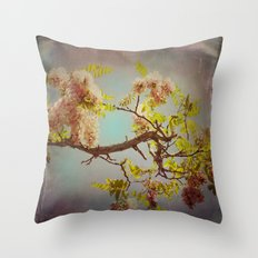 The arms of Spring Throw Pillow