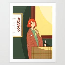 Coffee For Wednesdays Art Print