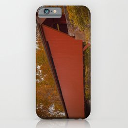 Walls of Jericho Bridge iPhone Case