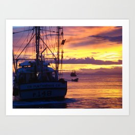 Costa Rican Sunset 3 Art Print