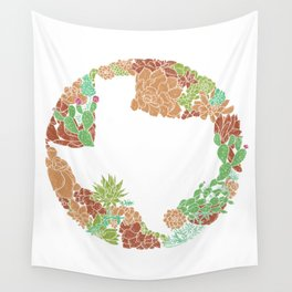 Texas Forever - Earth Wall Tapestry