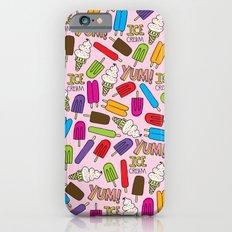 Ice Cream Doodles Slim Case iPhone 6s