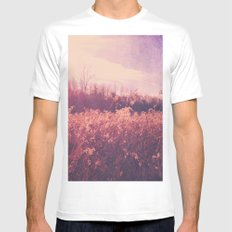 Field of Dreams White Mens Fitted Tee MEDIUM