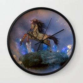 Little steampunk foal Wall Clock