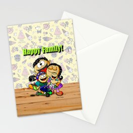 Happy Family! Stationery Cards