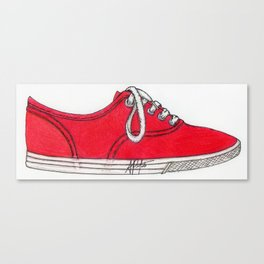 Red Shoe. Canvas Print