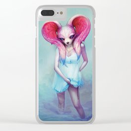 rabbit_1 Clear iPhone Case