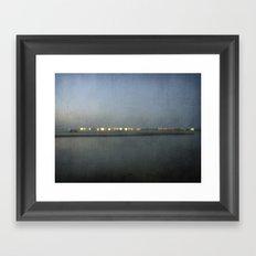 coastline Framed Art Print