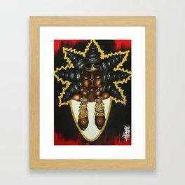 BRACELET QUEEN Framed Art Print