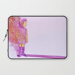 Flame doodle Laptop Sleeve