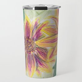 Funky Flowers Travel Mug
