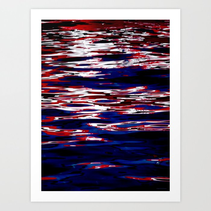 """Red Boat"" Art Print"
