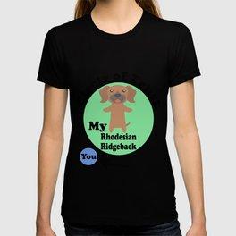 Circle Of Trust Cute Rhodesian Ridgeback T-shirt