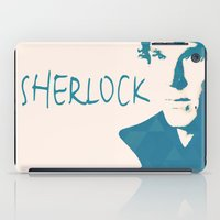sherlock iPad Cases featuring Sherlock by Sunli