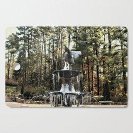 Winter's Lace Cutting Board