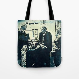 Manage a Trois (Office Drama) Tote Bag