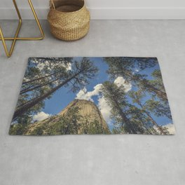 Close Encounters with Devils Tower Rug