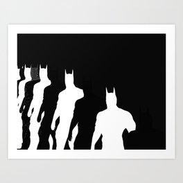 The Bat Hidden Profile Art Print