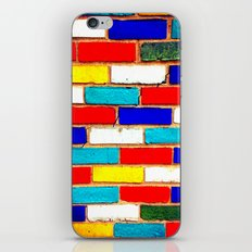 Vibrant Brick iPhone & iPod Skin