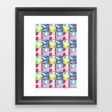 Left Shark Pop Art Framed Art Print