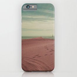 Pink dunes of Maspalomas iPhone Case