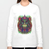 psychedelic Long Sleeve T-shirts featuring Psychedelic by Milena Taranu