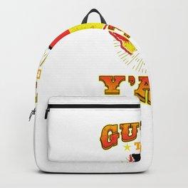 Guten Tag Y' All For German American Backpack