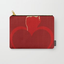 Heart Series Love The Finger Carry-All Pouch