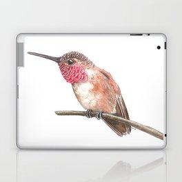 Hummingbird watercolor Laptop & iPad Skin