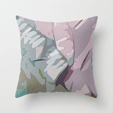 digital abstract Throw Pillow