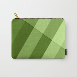 Greenery modern geometric lines Carry-All Pouch