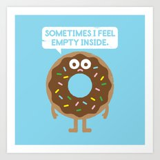 It's Not All Rainbow Sprinkles... Art Print
