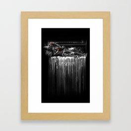 Bleeding 51 Framed Art Print