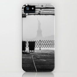 "Liberty thru ""The Boat"" iPhone Case"