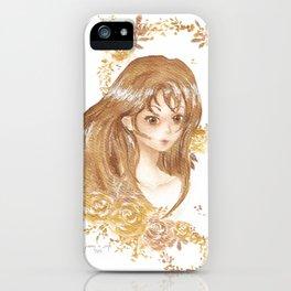 Golden Flora iPhone Case