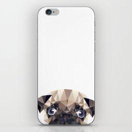 Pug Diamonds iPhone Skin