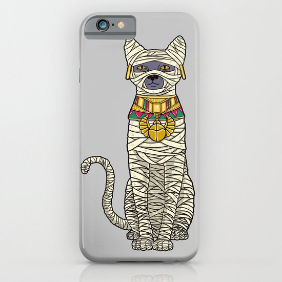 Ancient Cat Returns iPhone & iPod Case