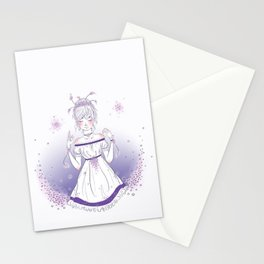 """Flower Child"" Stationery Cards"